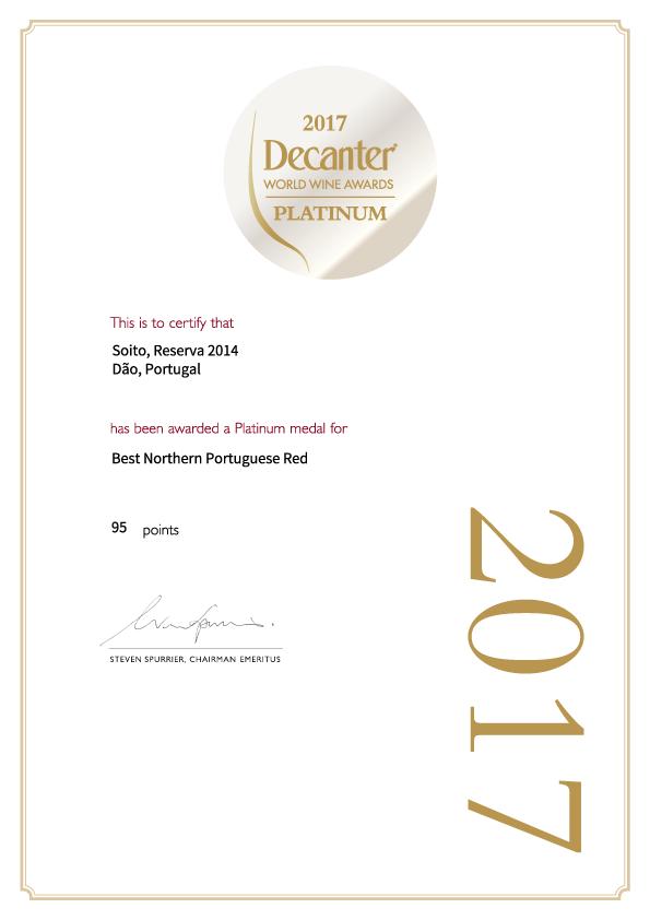 Certificate_SoitoReserva2014