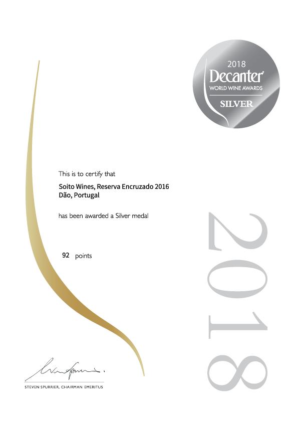 Decanter_Certificate_Silver_Encruzado_Reserva